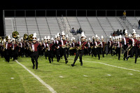 8/25/17 Central Band Halftime Show