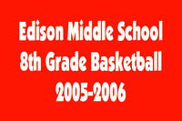 2005-2006 Edison Middle School 8th Grade State Basketball Team