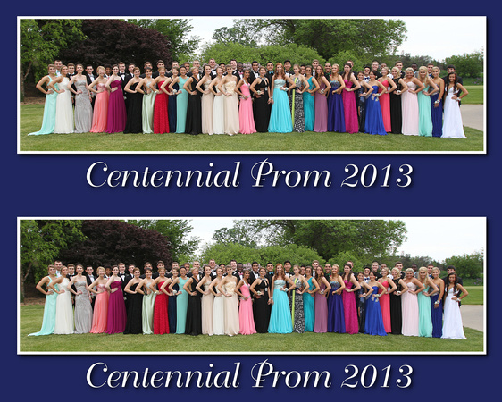 Centennial Prom 2013 two on a page